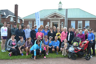 Participants at the RVH Walk Run