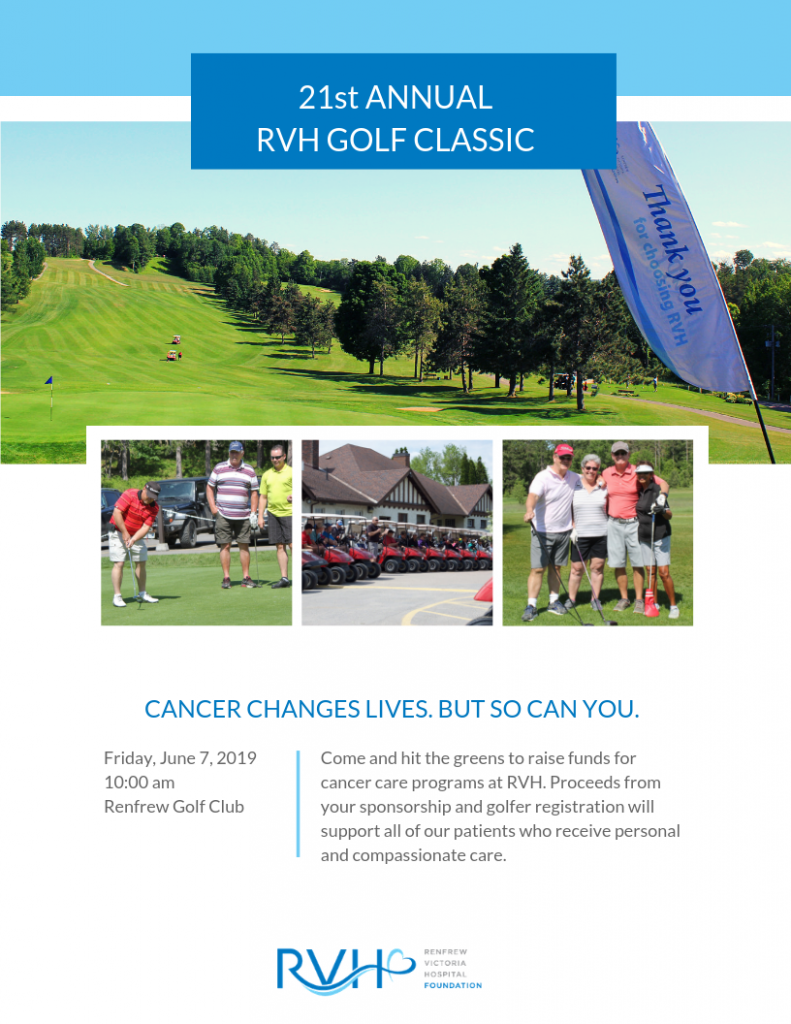 21st Annual RVH Golf Classic Sponsorship and Golfer Registration Package
